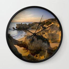 An Algarve cove, Portugal Wall Clock