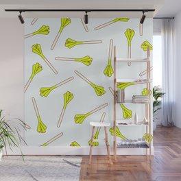 Leek onion everywhere! Wall Mural