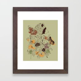Northern Bear Framed Art Print