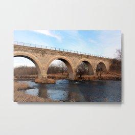 Tiffany Arch Bridge Metal Print