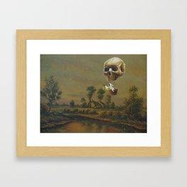 The Travelling Ghost Framed Art Print