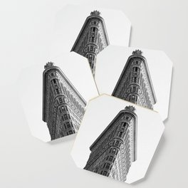 Flatiron Black and White NYC Coaster