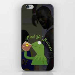 Mind Yo Business iPhone Skin