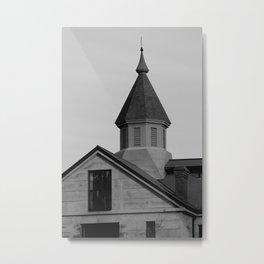 Old Salem Jail Metal Print