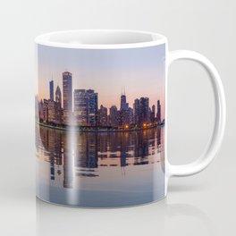 Panorama of the City skyline of Chicago Coffee Mug