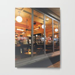 Can Can Metal Print