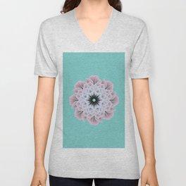 Digital Flower of Life (Zen) Unisex V-Neck
