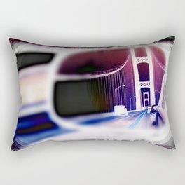 Rear View Mirror Rectangular Pillow