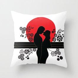 Love# Throw Pillow