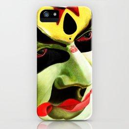 Kathakali Illustration iPhone Case