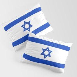 Israeli Flag of Israel Pillow Sham