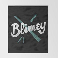 Blimey Throw Blanket