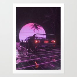 5th gear Art Print