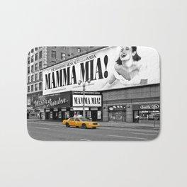 NYC Yellow Cabs Mamma Mia - USA Bath Mat
