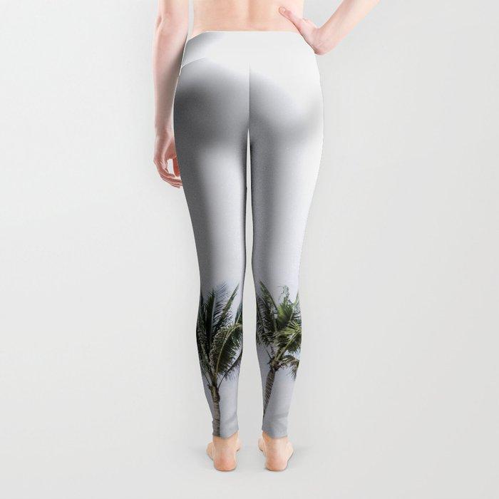 Palm trees 6 Leggings