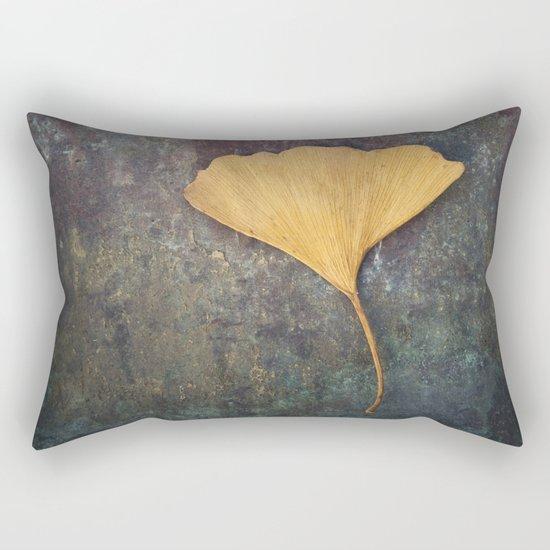 Ginkgo Leaf Rectangular Pillow