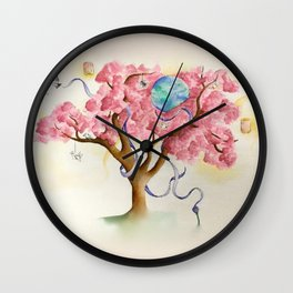 Peace Treety Wall Clock
