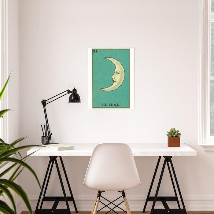Luna Tarot Poster