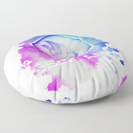 Geek Lite 3 Year Anniversary - Rainbow Style Floor Pillow