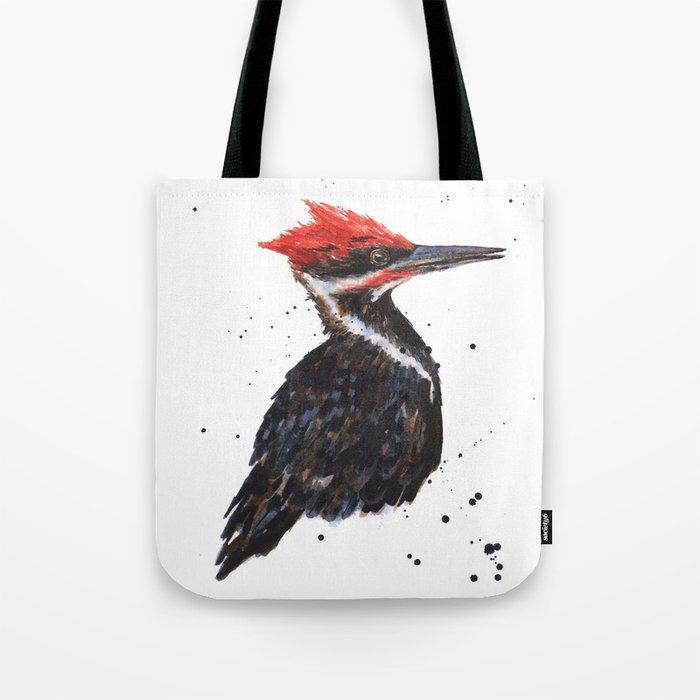 Red Knocker Tote Bag