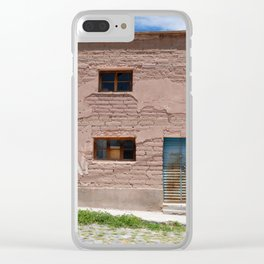 Bolivia door 4 Clear iPhone Case
