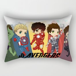 1D Avengers Rectangular Pillow