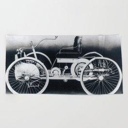 Ford quadricycle Beach Towel