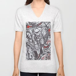 Faces Unisex V-Neck