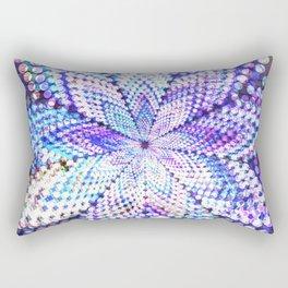 Flower Energy Bokeh Lights Rectangular Pillow