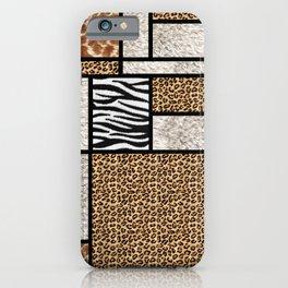 MondMondrian in a Fur-Stylerian  iPhone Case