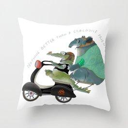Wild friendship Throw Pillow