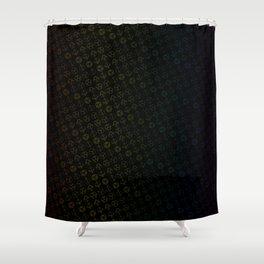 D&D Dice Pattern Shower Curtain