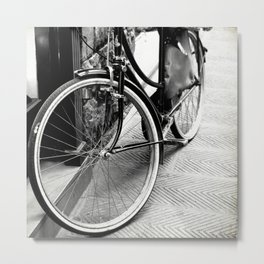 Bike Detail Metal Print