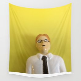 Yellow Accountant Wall Tapestry
