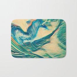Sandy Waves Bath Mat