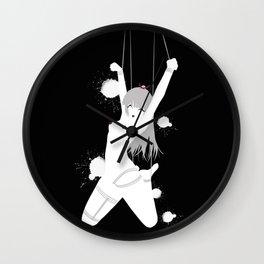 Ahyma - Black Rain Wall Clock