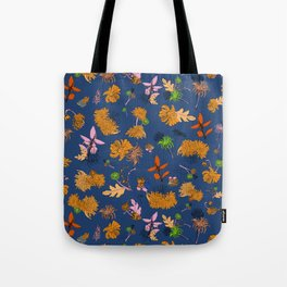 Spring has sprung (blue) Tote Bag