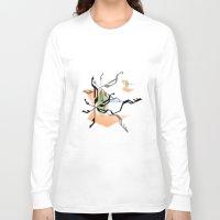 random Long Sleeve T-shirts featuring Random by Robin Curtiss