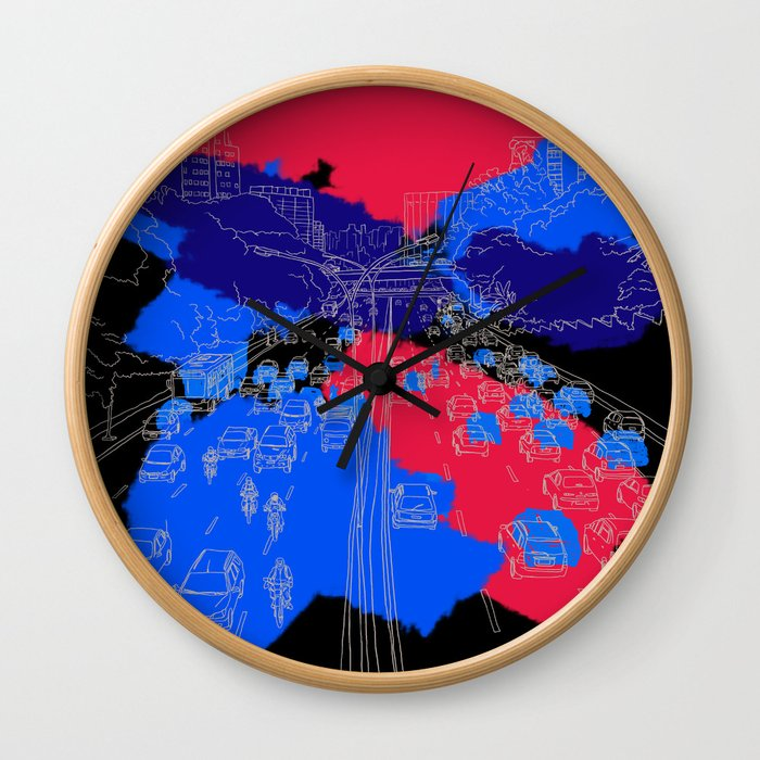 big city Wall Clock