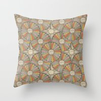 math Throw Pillows featuring Math Genius by Antique Images