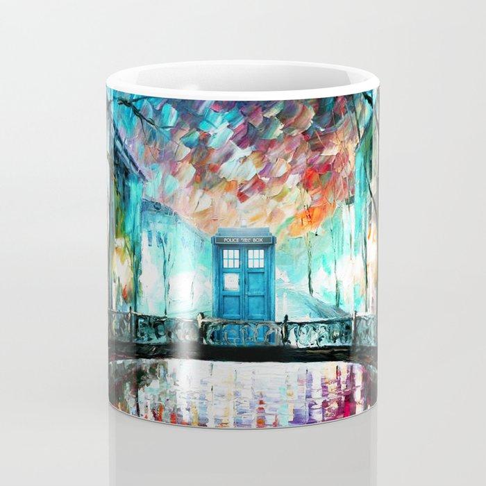 Tardis With Beautiful Starry Night Coffee Mug