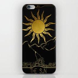 The Sun Tarot iPhone Skin