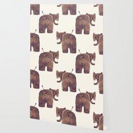 Elephant's butt Wallpaper