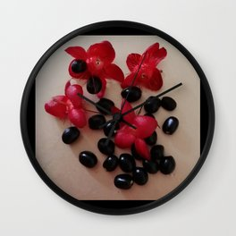 COUNTING SEEDS Wall Clock