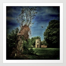 The Priory Garden Art Print