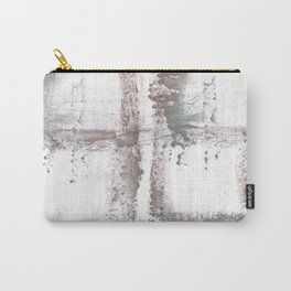 Gray smoke painting Carry-All Pouch