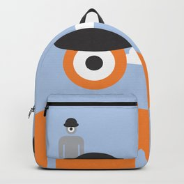 magritte glance Backpack