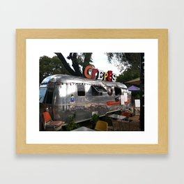 Food Truck Crepes Austin Texas Framed Art Print
