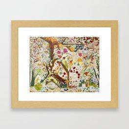 Fantasy Jacobean Forest Framed Art Print