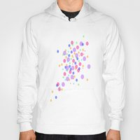 confetti Hoodies featuring Confetti by DuniStudioDesign